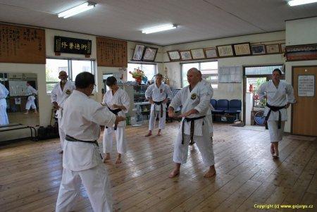 Hichiya dojo trénink na zkoušky