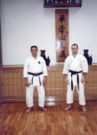 Seiro Aragaki - Ryushinkan Dojo Yoyogi Tokio