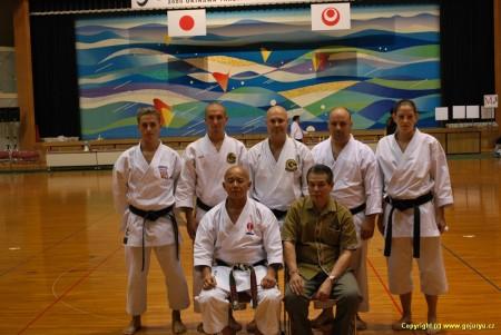 český tým s představiteli Ryuei-Ryu